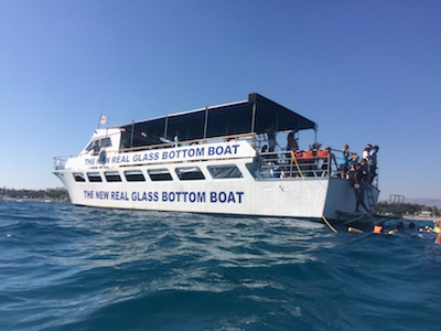 Glass Bottom Boat St. Raphael