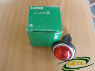 GENUINE LAND ROVER LUCAS COMPLETE TAIL LIGHT SERIES 1954-1960 PART NO 532808