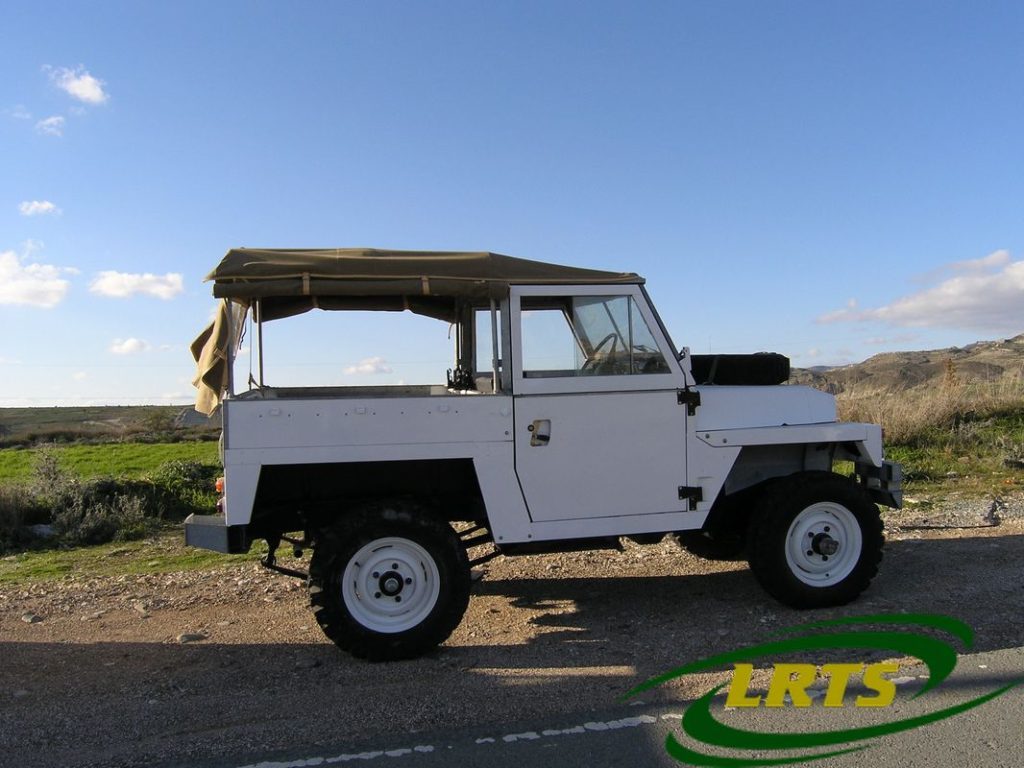 Land Rover Treasure Shop Lightweight Series III Nato White 2b
