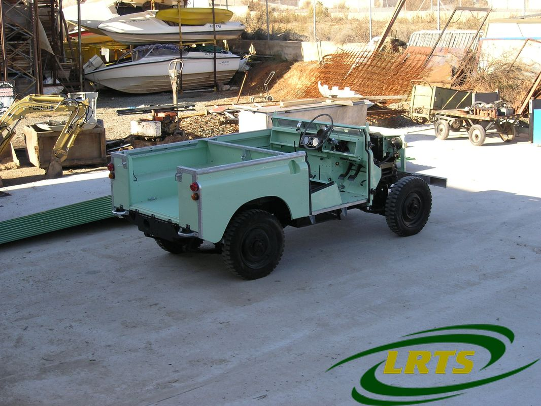 Land Rover Treasure Shop Series II 2 MOD recon blue green 10