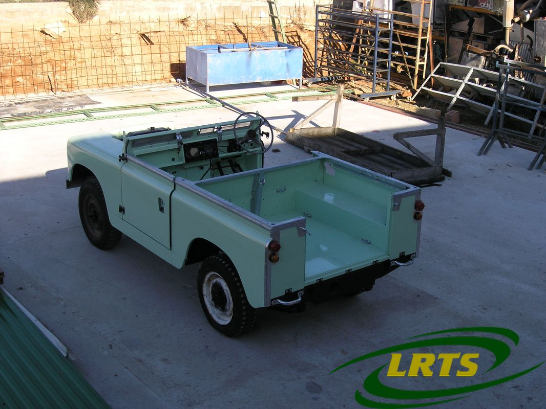 Land Rover Treasure Shop Series II 2 MOD recon blue green 14