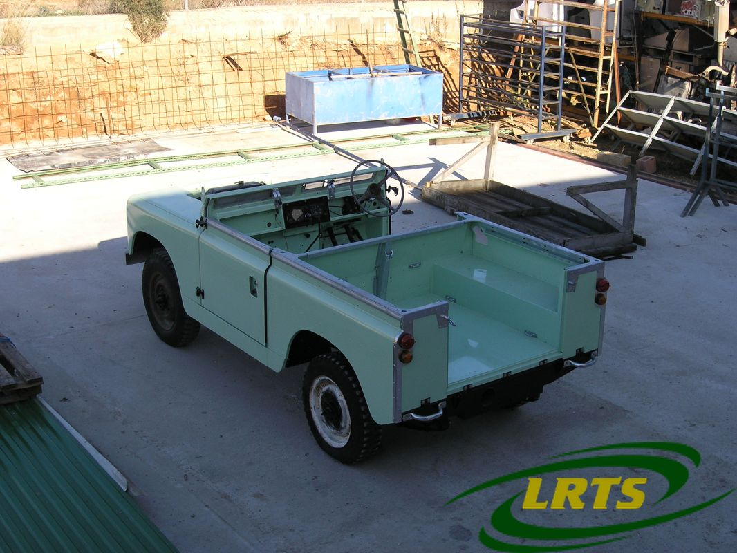 Land Rover Treasure Shop Series II 2 MOD recon blue green 15