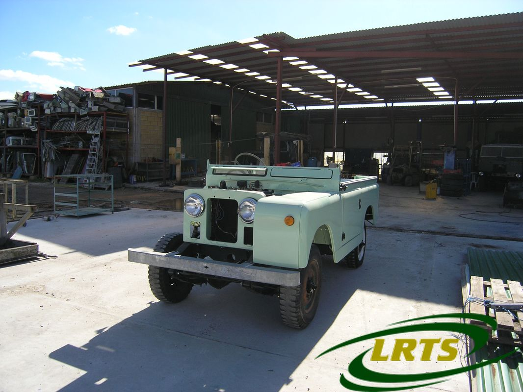 Land Rover Treasure Shop Series II 2 MOD recon blue green 2