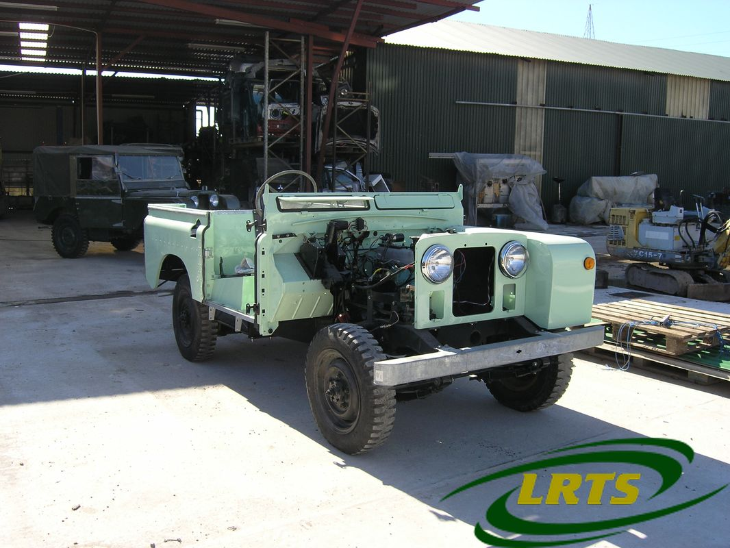 Land Rover Treasure Shop Series II 2 MOD recon blue green 4