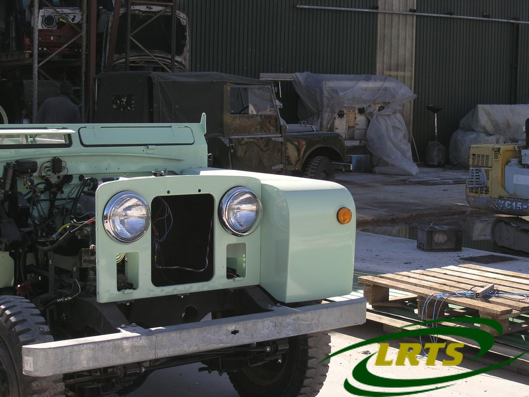 Land Rover Treasure Shop Series II 2 MOD recon blue green 5