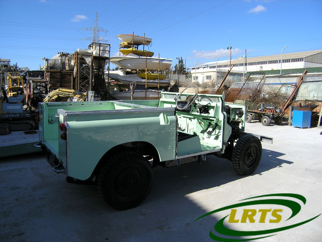 Land Rover Treasure Shop Series II 2 MOD recon blue green 8