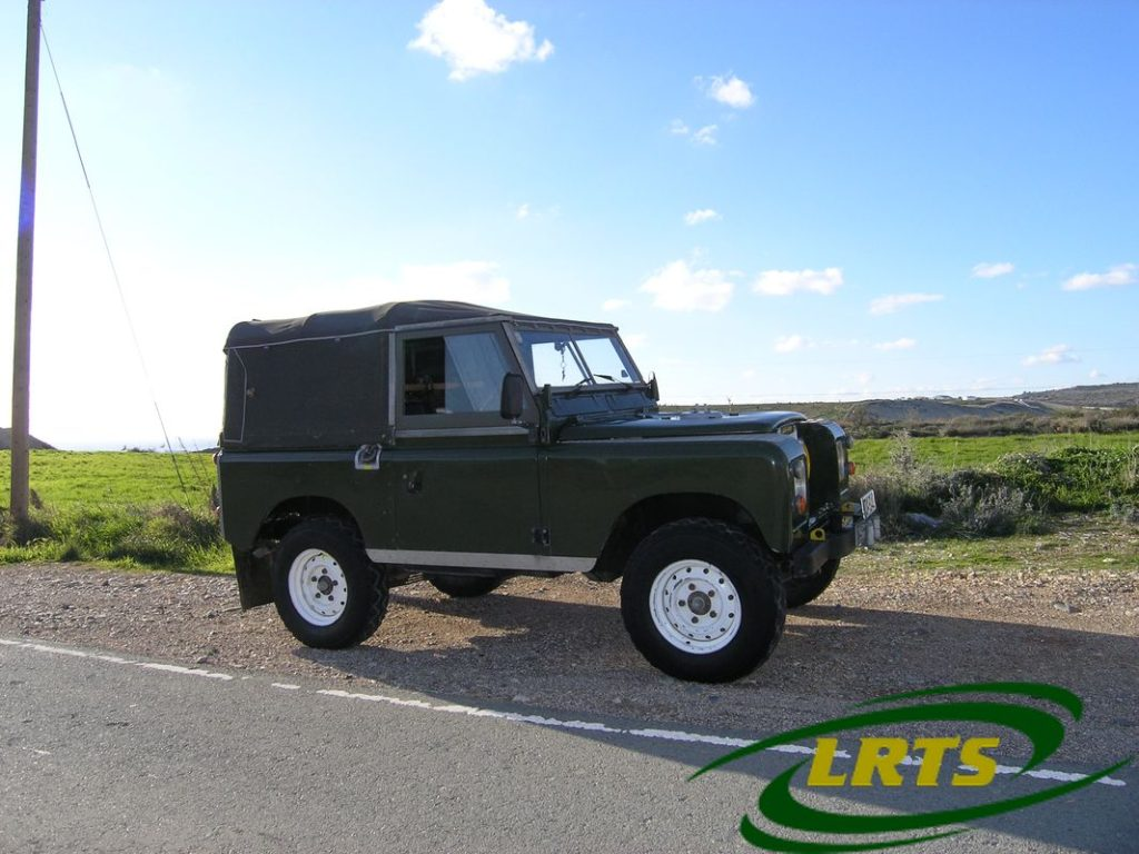 Land Rover Treasure Shop Series III Green 3a