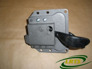 NOS LAND ROVER SERIES & 101 FWC LH DOOR HANDLE ASSEMBLY WITHOUT LOCK PART 345434