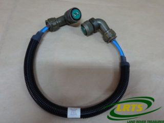 GENUINE LAND ROVER 670MM 2 PIN 90 DEGREE SOCKET CABLE ASSEMBLY FFR PART PRC2969