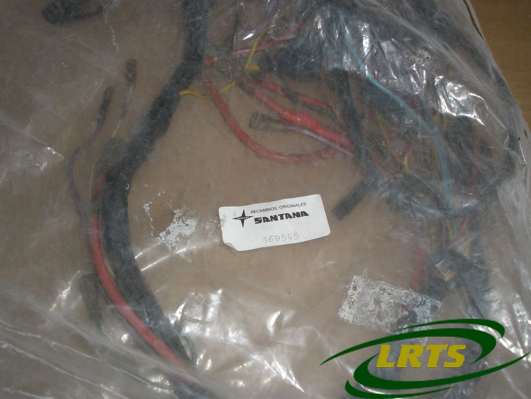 nos genuine santana land rover wiring harness part 169545