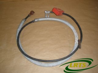 GENUINE LUCAS 24 VOLTS BATTERY CABLE LAND ROVER LIGHTWEIGHT BATTERY TO SOLENOID PART 560788