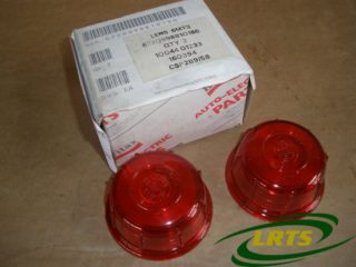 GENUINE BRITAX PAIR OF TRAILER SIDE LIGHT LENSES RED PART 1004401233