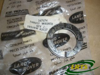 GENUINE LAND ROVER THRUST WASHER SHIM 2ND SPEED MAIN SHAFT GEAR SERIES PART 267574