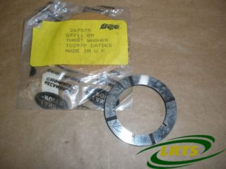 GENUINE LAND ROVER THRUST WASHER SHIM 2ND SPEED MAIN SHAFT GEAR SERIES PART 267575
