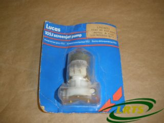 GENUINE LUCAS 12 VOLTS WINDSCREEN WASHER PUMP LAND ROVER SERIES RRC DEFENDER PART PRC3369