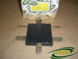 NOS GENUINE LAND ROVER CLUTCH & BRAKE PEDAL RUBBER SERIES II & III PART 278166