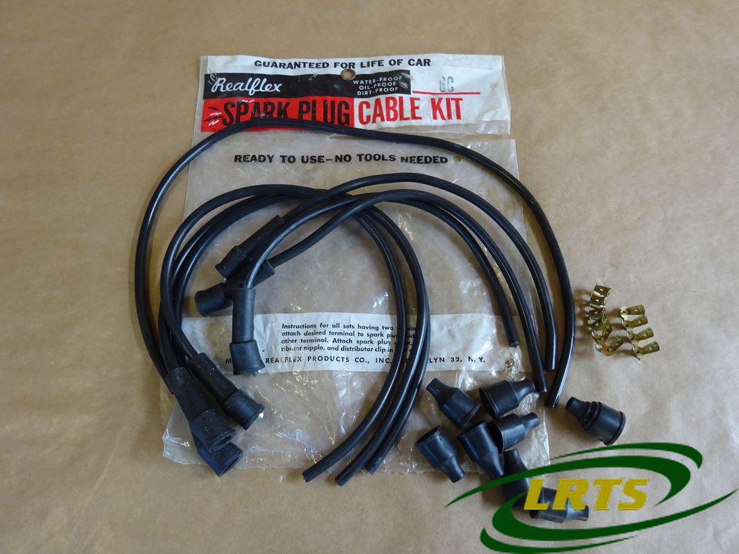 Nos Real Flex Ignition Lead Kit 6 Cylinder Land Rover Series Iia Wiring Iii Part 574144