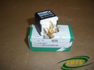 GENUINE LUCAS 24V RELAY FOR LAND ROVER DEFENDER WOLF XD PART PRC9671 SRB510