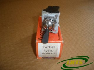 GENUINE LUCAS TOGGLE SWITCH INFRA RED LAMP LAND ROVER SERIES III 101 FWC PART PRC2156