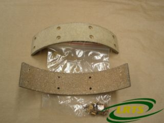 NOS EX MOD HAND BRAKE LINING WITH RIVETING LAND ROVER SERIES II IIA PART 541994