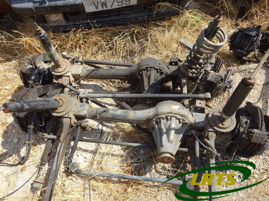salvage Cyprus Land Rover LRTS parts axle suspension