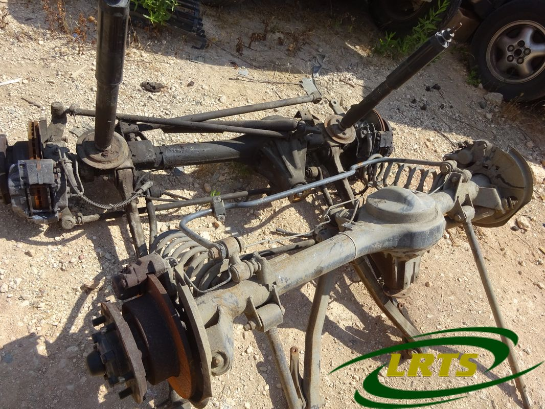salvage Cyprus Land Rover LRTS parts axle