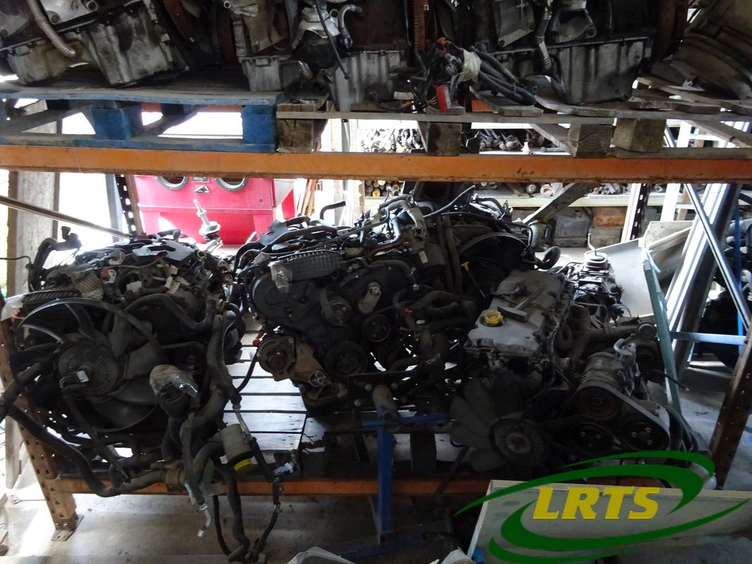 salvage Cyprus Land Rover LRTS parts engine