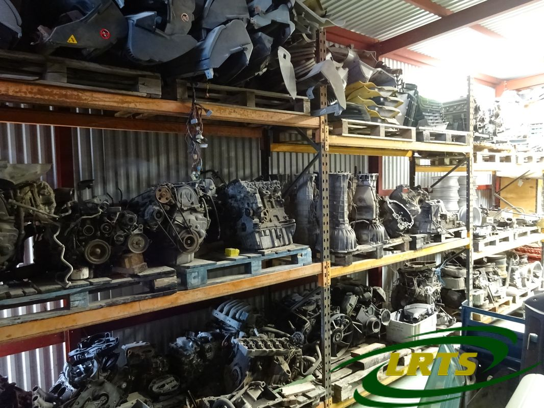 salvage Cyprus Land Rover LRTS parts engine gearbox