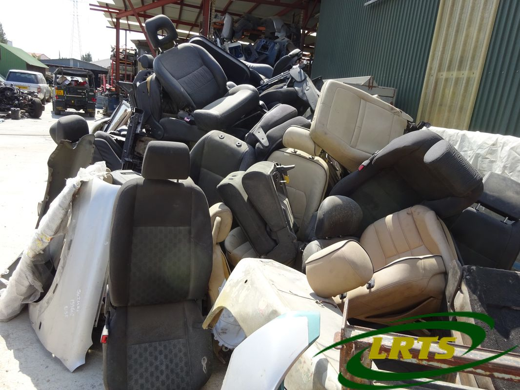 salvage Cyprus Land Rover LRTS parts seat interior