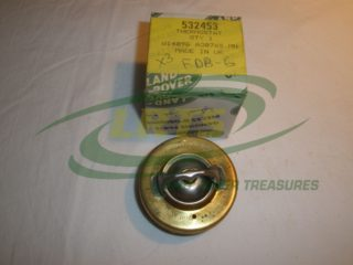 GENUINE LAND ROVER SERIES 2.25L PETROL AND DIESEL ENGINES THERMOSTAT PART 532453