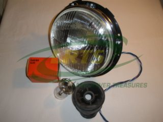 GENUINE LUCAS EUROPEAN LEFT HAND DRIVE HEADLIGHT LAND ROVER SERIES II IIA PART 545218870