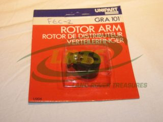 NOS UNIPART LAND ROVER SERIES 1954 74 DISTRIBUTOR ROTOR ARM PART RTC3612