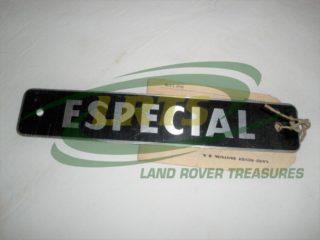 GENUINE SANTANA LAND ROVER DECAL BADGE ESPECIAL PART 201013