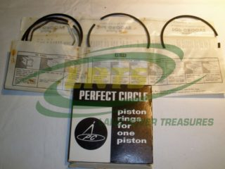 LAND ROVER SERIES AND DEFENDER 2.25L 2.5L PETROL PISTON RING SET PART RTC241040