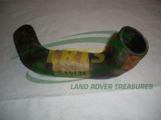 NOS GENUINE LAND ROVER RADIATOR BOTTOM HOSE 2.25L SERIES 1958 68 PART 534130