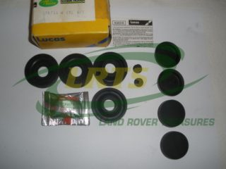 NOS GENUINE LUCAS FRONT WHEEL CYLINDER REPAIR KIT SERIES 1 PART 275744