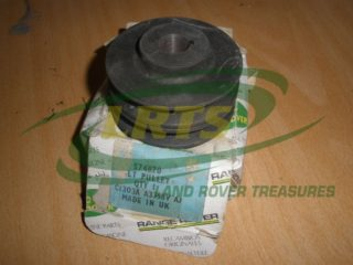 GENUINE LAND ROVER SERIES DOUBLE GROOVE ALTERNATOR PULLEY PART 574870