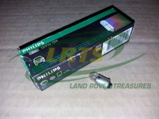 LAND ROVER 12V LIGHT BULB PER 10 VARIOUS APPLICATIONS NUMBER PLATE PART 575312