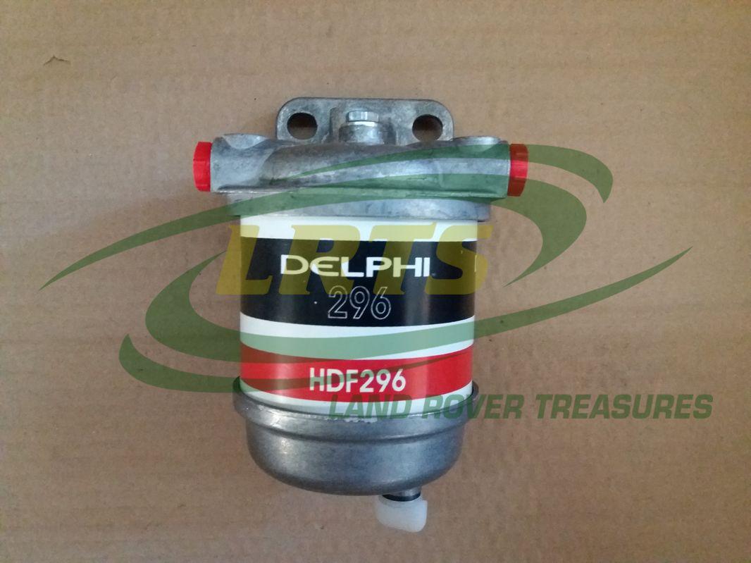 Delphi Diesel Fuel Filter Assembly Tank Filters Wiring Housing Land Rover Models Series Defender Part Cav
