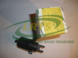 NOS GENUINE LAND ROVER 12 VOLTS WINDSCREEN WASHER PUMP SERIES & RRC PART STC575 GWW125