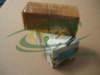 NOS GENUINE LAND ROVER AIR FILTER RANGE ROVER CLASSIC V8 TWIN CARB PART 605191