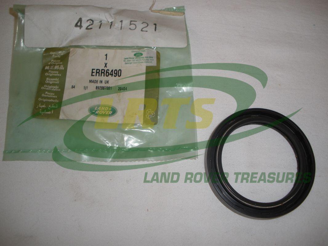 Genuine Land Rover Front Crankshaft Seal