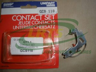 NOS GENUINE UNIPART CONTACT SET LAND ROVER SERIES VARIOUS APPLICATIONS PART GCS118