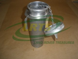NOS LAND ROVER FUEL FILLER NECK & CAP ASSY DEFENDER SERIES 3 109 HCPU PART NRC2536