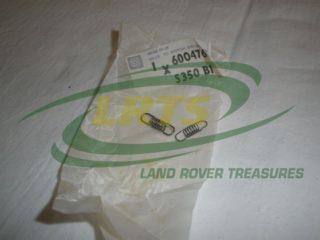 GENUINE LAND ROVER SPRING SET DISTRIBUTOR SERIES PART 600476