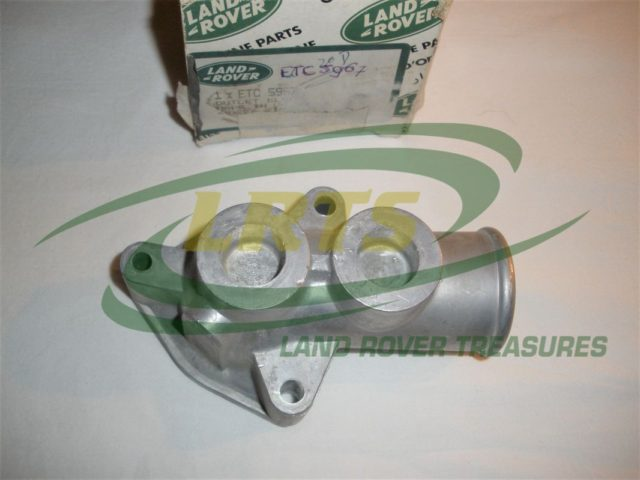 NOS GENUINE LAND ROVER ELBOW ENGINE COOLANT OUTLET DEFENDER DISCOVERY RANGE ROVER CLASSIC PART ETC5967