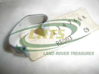 NOS GENUINE LAND ROVER FRONT RADIATOR GRILLE CLIP SERIES 3 PART 347668