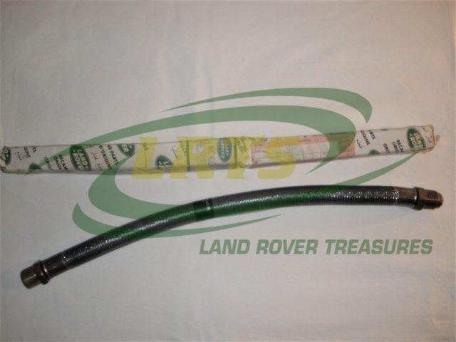 NOS GENUINE LAND ROVER OIL COOLER INLET OUTLET HOSE DEFENDER V8 90 110 PART NRC4162