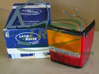 NOS GENUINE LAND ROVER REAR RIGHT HAND LIGHT CLUSTER RANGE ROVER CLASSIC PART PRC2076
