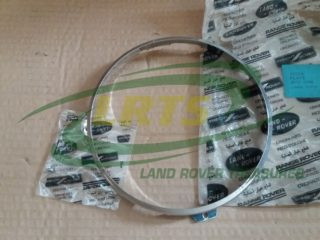 GENUINE LAND ROVER CHROME HEADLAMP BEZEL RANGE ROVER CLASSIC PART 515218